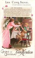 - GRANDE CHROMO CACAO & CHOCOLAT VAN HOUTEN - LES CINQ SENS / LE TOUCHER - Van Houten