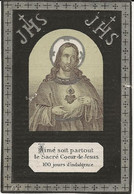 DP. EUGENIE MOREL - BILLE ° RENAIX - + MOUSCRON 1889 -  73 ANS - Godsdienst & Esoterisme