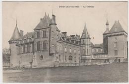 CARTE POSTALE   DRACY LES COUCHES 71 Le Château - Other Municipalities