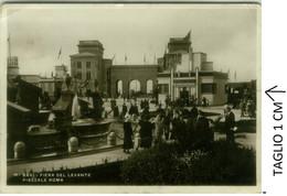 BARI - FIERA DEL LEVANTE - PIAZZALE ROMA - EDIZIONE LOBUONO - SPEDITA 1936 (7955) - Bari