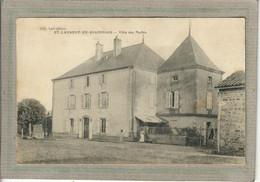 CPA - (71) SAINT-LAURENT-en-BRIONNAIS - Aspect De La Villa Des Mathis Au Début Du Siècle - Other Municipalities