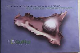 Golf. Una Preziosa Opportunità Per La Sicilia. Di Aa.vv., 2010, Golftur - Sonstige