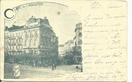 Bruxelles  Cafe De L'industrie ( Voir Timbres - Pubs, Hotels, Restaurants