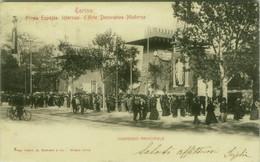 TORINO - PRIMA ESPOSIZ. INTERNAZ. D'ARTE DECORATIVA MODERNA - INGRESSO PRINCIPALE - EDIZIONE MODIANO - 1900s (7957) - Exhibitions