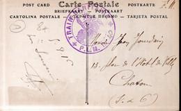 """CARTE POSTALE FRANCE 1916 - FRANCHISE MILITAIRE - """"TRAIN SANITAIRE P.L.M. N°40"""" - - Militaria"""