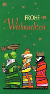 """BRD Amtl. GZS Sonderpstkarte """"Weihnachten"""" PSo 56/04 """"WSt 100+50(Pf) Besuch Der Hirten"""", SSt 9.12.1998 BERLIN ZENTRUM - Cartes Postales - Oblitérées"""