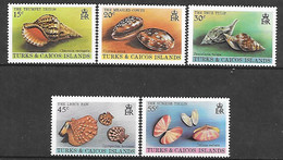 Turks Et Caicos N° 488/92 Yvert NEUF ** - Turks- En Caicoseilanden