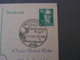 SST Shierke Harz 1949 - Postkarten - Gebraucht