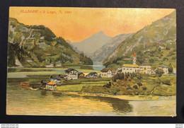 CPA - ITALIE - ALLEGHENY - Il Lago, M. 1000 - Colorisée - Belluno