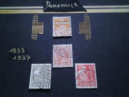 Ensemble Philatélique DANEMARK 1933-1937 - Gebruikt