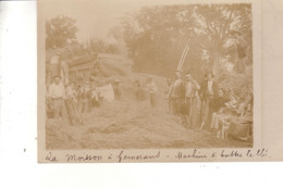 THOISEY GARNERANS  La Moisson à Garnerans Machine à Battre La Blé - Altri Comuni