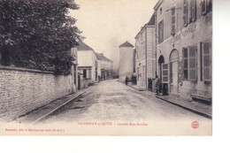 SALORNAY SUR GUYE  Grande Rue Gandin( Gendarmerie Charcuterie ) - Other Municipalities