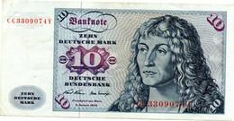 Allemagne - Deutschland - Germany 10 Mark 2/1/1970 SUP - 10 Deutsche Mark