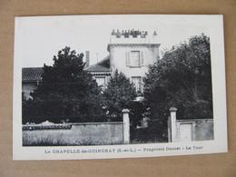 Cpa La Chapelle En Guinchay  Propriété Doucet La Tour  Saône Et Loire 71 Pontanevaux - Other Municipalities