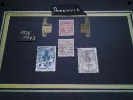 Ensemble Philatélique DANEMARK 1936 -1943 - Gebruikt