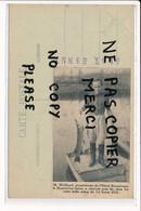Collage Au Dos De Carte Postale Pêche De M. WEILLAND Propriétaire De L'hôtel Beaurivage à NOGENT SUR SEINE - Nogent-sur-Seine