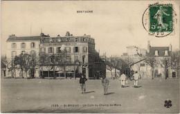 CPA AK St.Brieuc Un Coin Du Champ De Mars FRANCE (1139793) - Saint-Brieuc