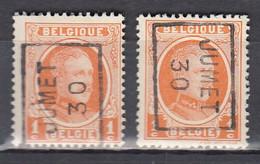5307 Voorafstempeling Op Nr 190 - JUMET 30 - Positie A&B - Roller Precancels 1930-..