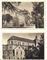 68 - 2 CPA - ZILLISHEIM - PETIT SEMINAIRE - La Chapelle-Façade Partie Droite - Autres Communes