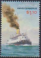 AUSTRALIA, 2021, MNH,SHIPS, HMS CERBERUS,1v - Boten