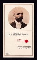 S.d.D. CONTARDO FERRINI   -  CON RELIQUIA - Mm. 66 X 113 - Religione & Esoterismo