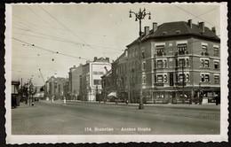 Carte Photo - Bruxelles Avenue Houba - Laeken - Café AU Monico  - Edit. Lits - Voir Scans - Laeken
