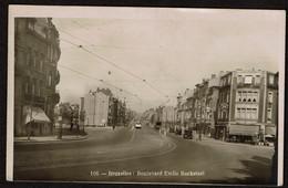 Carte Photo - Bruxelles - Boulevard Emile Bockstael - Taverne Jean - Edit. Lits - Voir Scans - Brussels (City)
