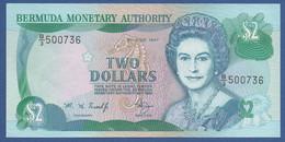 BERMUDA - P.40Ab – 2 DOLLARS1997  UNC Prefix B/3 500736 - Bermude