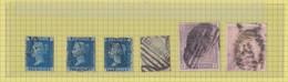 SG  £ 2.155 - N° 45 (3 X Plate Nbrs) - N° 126 (plate 2) - N° 178 - N° 192 - Used Stamps