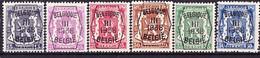 Belgie Nr. 345/350 - Typos 1936-51 (Petit Sceau)