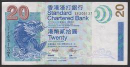 Hongkong SCB 20 Dollar 2003 P291 B XF - Hong Kong