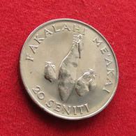 Tonga 20 Seniti 1990 FAO F.a.o.  Wºº - Tonga