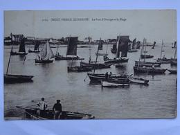 CPA (56) Morbihan - SAINT PIERRE QUIBERON - Le Port D'Orange Et La Plage - Quiberon
