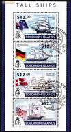 TALL SHIPS - Salomon Islands, 2013 / Fdc - Boten