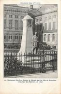 Monument élevé Au Comte De Mérode Par La Ville De Bruxelles, En 1898 - Env. à Mlle Bragard 14, Rue Du Séminaire, Namur - Monuments