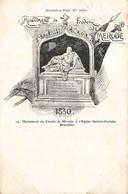 Monument Du Comte De Mérode à L'Eglise St-Gudule à BRUXELLES - Env. à Mlle Bragard 14, Rue Du Séminaire, Namur - Monuments
