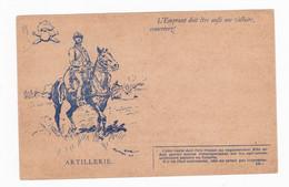Carte En Franchise Militaire - Modèle 29 - Modèle A2 - Artillerie - FM-Karten (Militärpost)