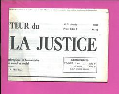 JOURNAL : Le Moniteur Du Règne De La Justice N°19  Année 1980 - 1950 - Oggi