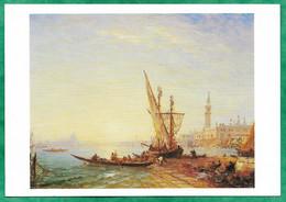 Venezia (Veneto) Trabucco Et Gondoles, Quai Des Esclavons Ziem Félix (Beaune 1821-1911 Paris) 2scans - Venezia