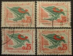 ALGERIE N°371 X 4 Oblitéré - Colecciones (sin álbumes)
