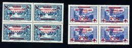 Lot Z965 Levant France Libre N°42/43** Bloc De 4 - Unused Stamps