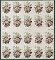 USA 2004 Blumenstrauß 3813 Folienblatt F.-Bl. 102 Postfrisch (D13203) - 1981-...