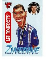 Image, Figurine , Sticker : Les Toufoot's La Vache Qui Rit - ZINEDINE ZIDANE. - Other