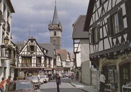 67, Obernai, Vieilles Maisons à Colombages Et Tour De La Chapelle - Obernai