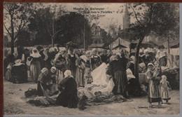 29 - Marché Aux Chiffons Dans Le Finistère - Musée De Quimper ( Jules Trayer ) - Quimper