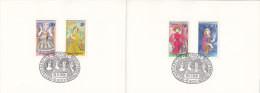 MINISTERKARTE Typ V - ESST 16.11.1976, BRD 908-911,  Bedeutende Frauen - Lettres & Documents