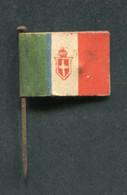 """WW1 Drapeau Italien """"Journée De Poilu / Italie"""" WWI - 1914-18"""