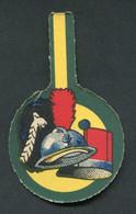"""WWI - Médaille Carton Casque Adrian, Bonnet à Poils, Shako """"Journée De Poilu Guerre 14/18"""" WW1 - 1914-18"""