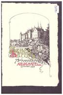 NEUCHATEL - BELLE LETTRES 1907 - SOCIETE D'ETUDIANTS - STUDENT SOCIETY - TB - NE Neuchatel