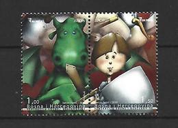 Timbre  Europa  Bosnie   En Neuf ** N 640/641 - 2010